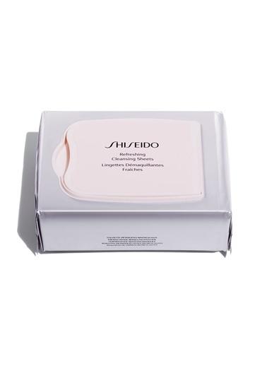 Shiseido Shiseido SGS Refreshıng Cleansıng Sheets Pamuklu Süt Temizleyici Renksiz